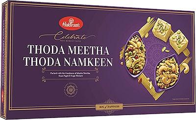 Haldiram's Thoda Meetha Thoda Namkeen - Snack & Sweet Gift Pack
