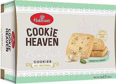 Haldiram's Cookie Heaven - Kaju Pista (Cashew & Pistachio) Cookies