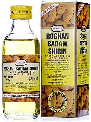 Hamdard Roghan Badam Shirin - Sweet Almond Oil