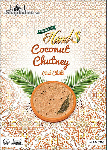 HandS Coconut Chutney with Red Chilli