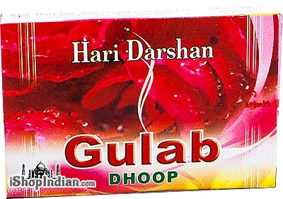 Hari Darshan Dhoop Sticks - Gulab (Rose)