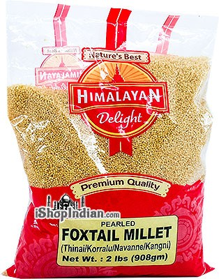 Himalayan Delight Pearled Foxtail Millet