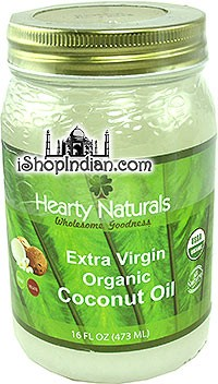 Hearty Naturals Extra Virgin Organic Coconut Oil