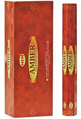 Hem Amber Incense - 120 sticks