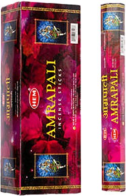 Hem Amrapali Incense - 120 sticks