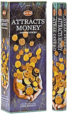 Hem Attracts Money Incense - 120 sticks