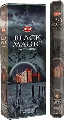 Hem Black Magic Incense - 120 sticks