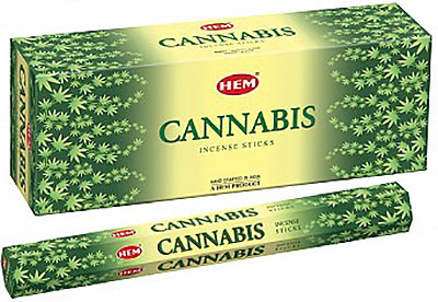 Hem Cannabis Incense - 120 sticks