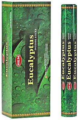 Hem Eucalyptus Incense - 120 sticks
