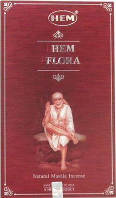 Hem Flora Natural Masala Incense - 15 sticks