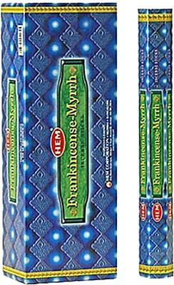 Hem Frankincense-Myrrh Incense - 120 sticks