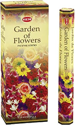 Hem Garden of Flowers Incense - 120 sticks