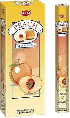 Hem Peach Incense - 120 sticks