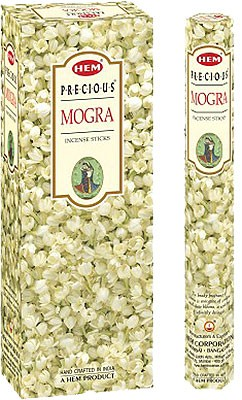 Hem Precious Mogra Incense - 120 sticks