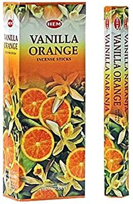 Hem Vanilla Orange Incense - 120 sticks