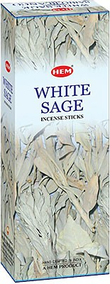 Hem White Sage Incense - 120 sticks