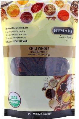 Hemani Organic Chili Whole