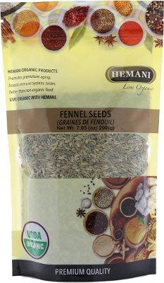 Hemani Organic Fennel Seeds