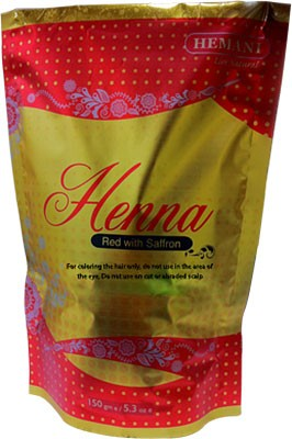 Hemani Henna - Red with Saffron