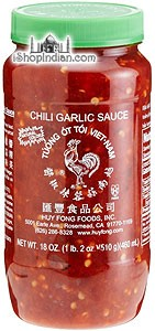 Huy Fong Hot Chili Garlic Sauce