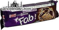 Parle Hide & Seek Fab! - Chocolate Cream Sandwich Cookies