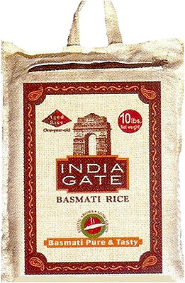 India Gate Basmati Rice - Premium - 10 lbs