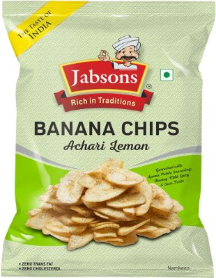 Jabson Banana Chips - Achari Lemon