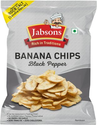 Jabson Banana Chips - Black Pepper