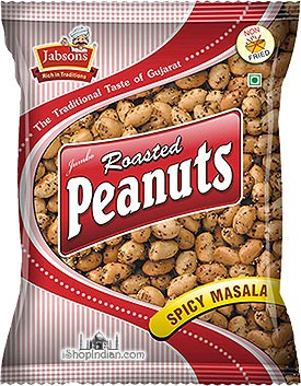 Jabsons Roasted Peanuts - Spicy Masala
