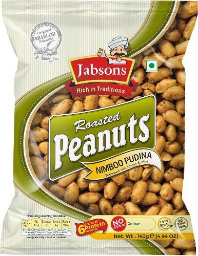 Jabsons Roasted Peanuts - Nimboo Pudina (Lemon & Mint)