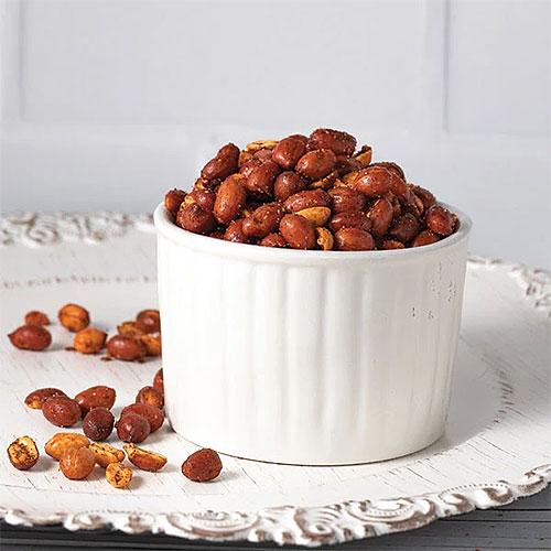 Janaki's Spicy Peanuts