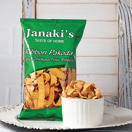 Janaki's Ribbon Pakoda
