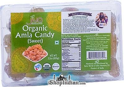 Jiva Organics Amla Candy (Sweet)
