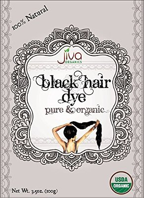 Jiva Organics Black Hair Dye
