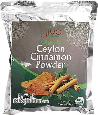Jiva Organics Ceylon Cinnamon Powder - 1 lb