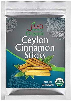 Jiva Organics Ceylon Cinnamon Sticks (Round)