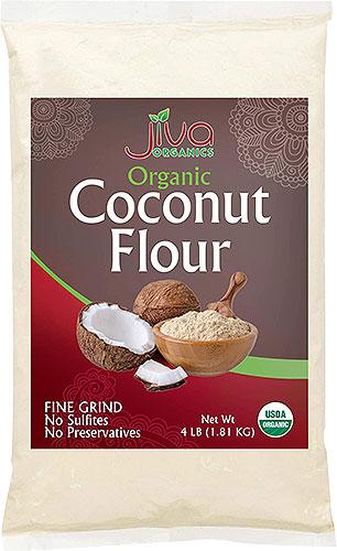 Jiva Organics Coconut Flour - 4 lbs