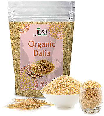 Jiva Organics Dalia Wheat (Cracked Wheat)