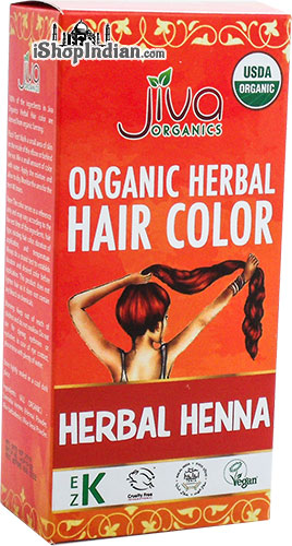 Jiva Organics Herbal Henna Hair Color