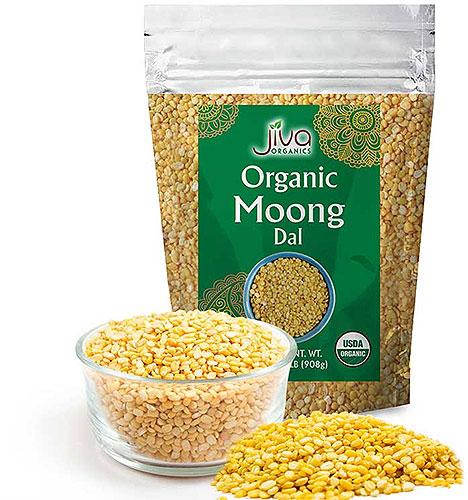 Jiva Organics Moong Dal - 2 lbs