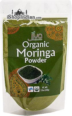 Jiva Organic Moringa Powder (Moringa Oleifera)