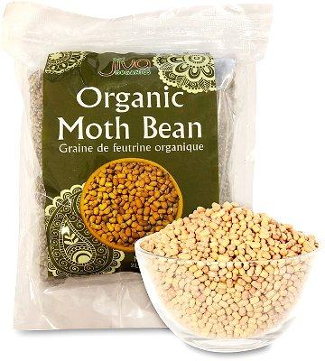 Jiva Organics Moth Beans Whole (Dew Beans)