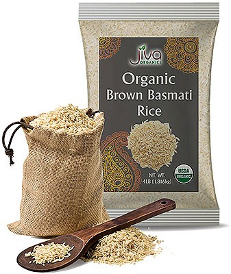 Jiva Organics Brown Basmati Rice