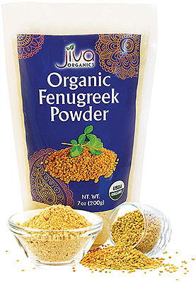 Jiva Organics Fenugreek (Methi) Powder