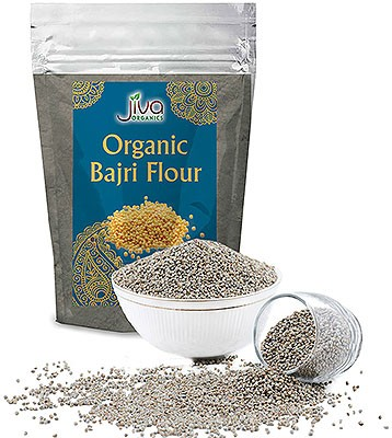 Jiva Organics Bajri (Pearl Millet) Flour