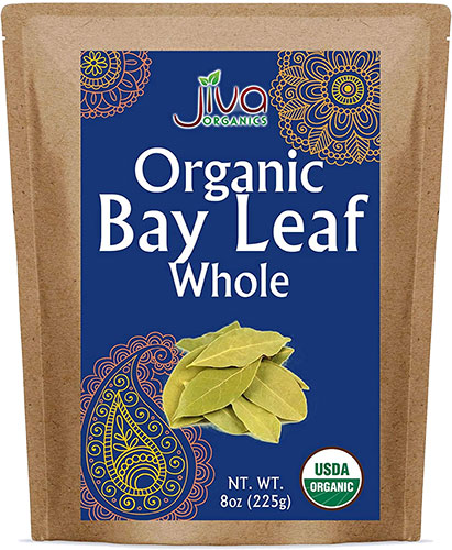 Jiva Organics Bay Leaf - Whole - 8 oz