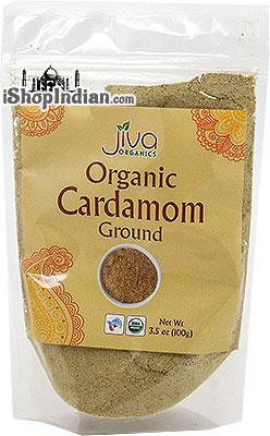 Jiva Organics Cardamom Ground