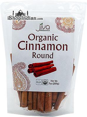 Jiva Organics Cinnamon Sticks (Round)