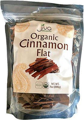Jiva Organics Cinnamon Flat