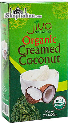 Jiva Organics Creamed Coconut